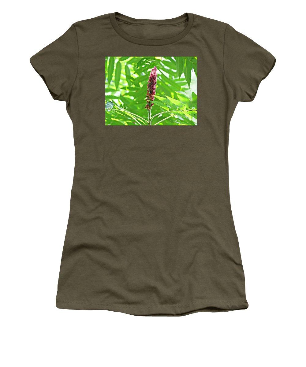 Sumac Women's T-Shirt featuring the photograph Sumac by MTBobbins Photography