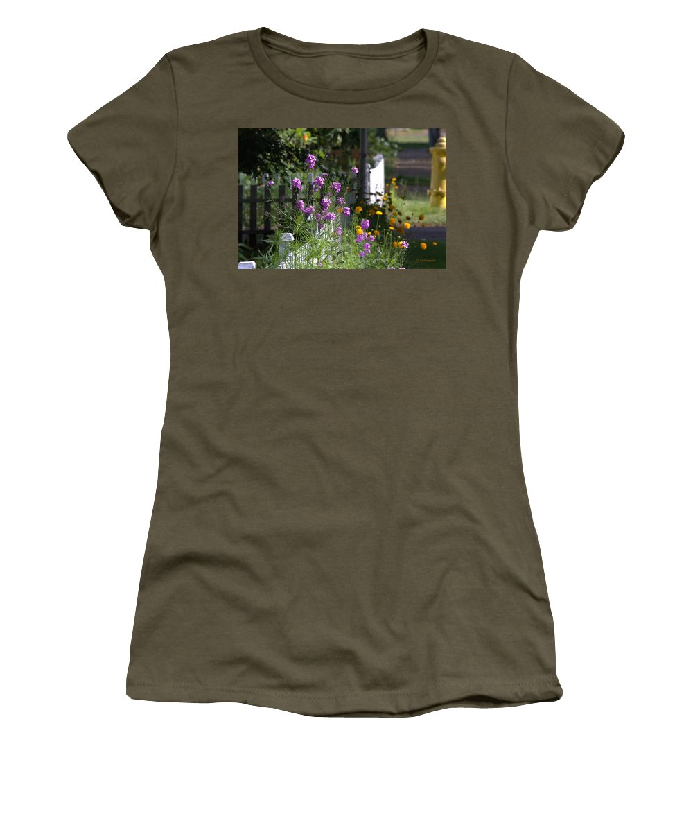 Summer Women's T-Shirt featuring the photograph Summer Dreams Two by Jeanette C Landstrom