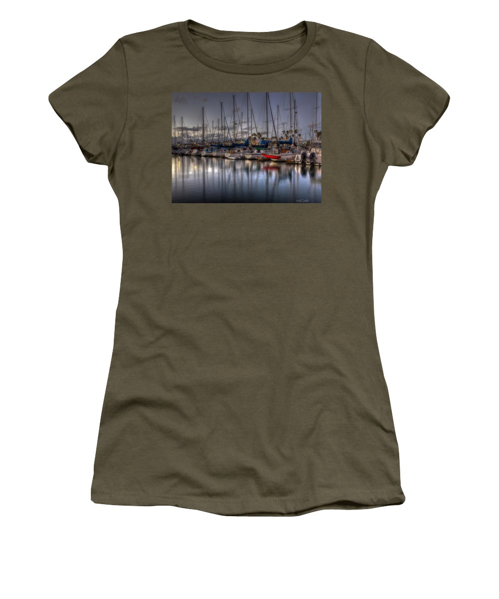 Sunset Women's T-Shirt featuring the photograph Summer's End by Heidi Smith