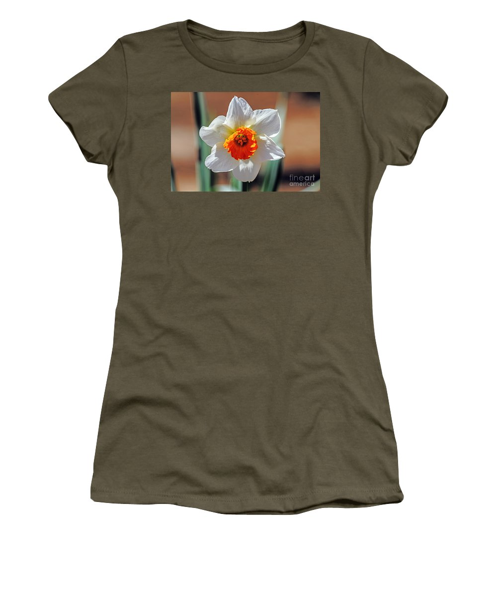 Season Women's T-Shirt featuring the photograph Sun Burst by Elvis Vaughn