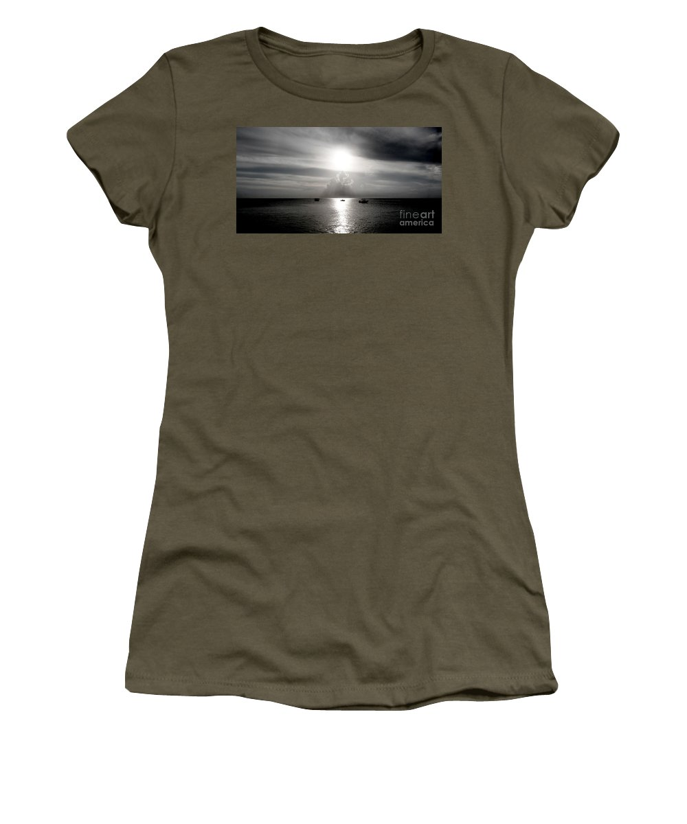 Color Women's T-Shirt featuring the photograph Sun Worship by Amar Sheow