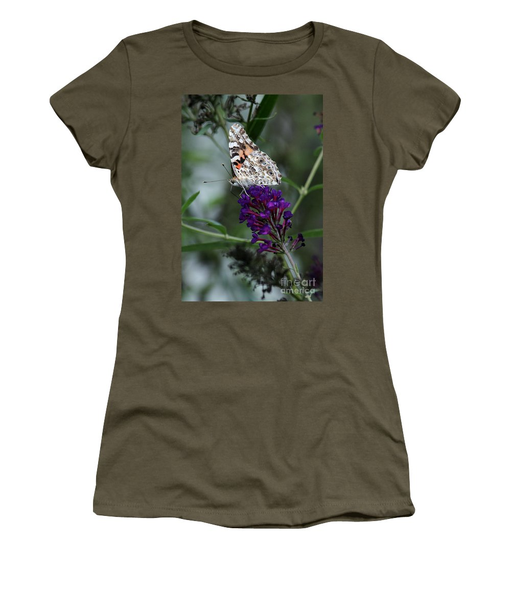 Women's T-Shirt featuring the photograph Sweet Nectar by Douglas Stucky