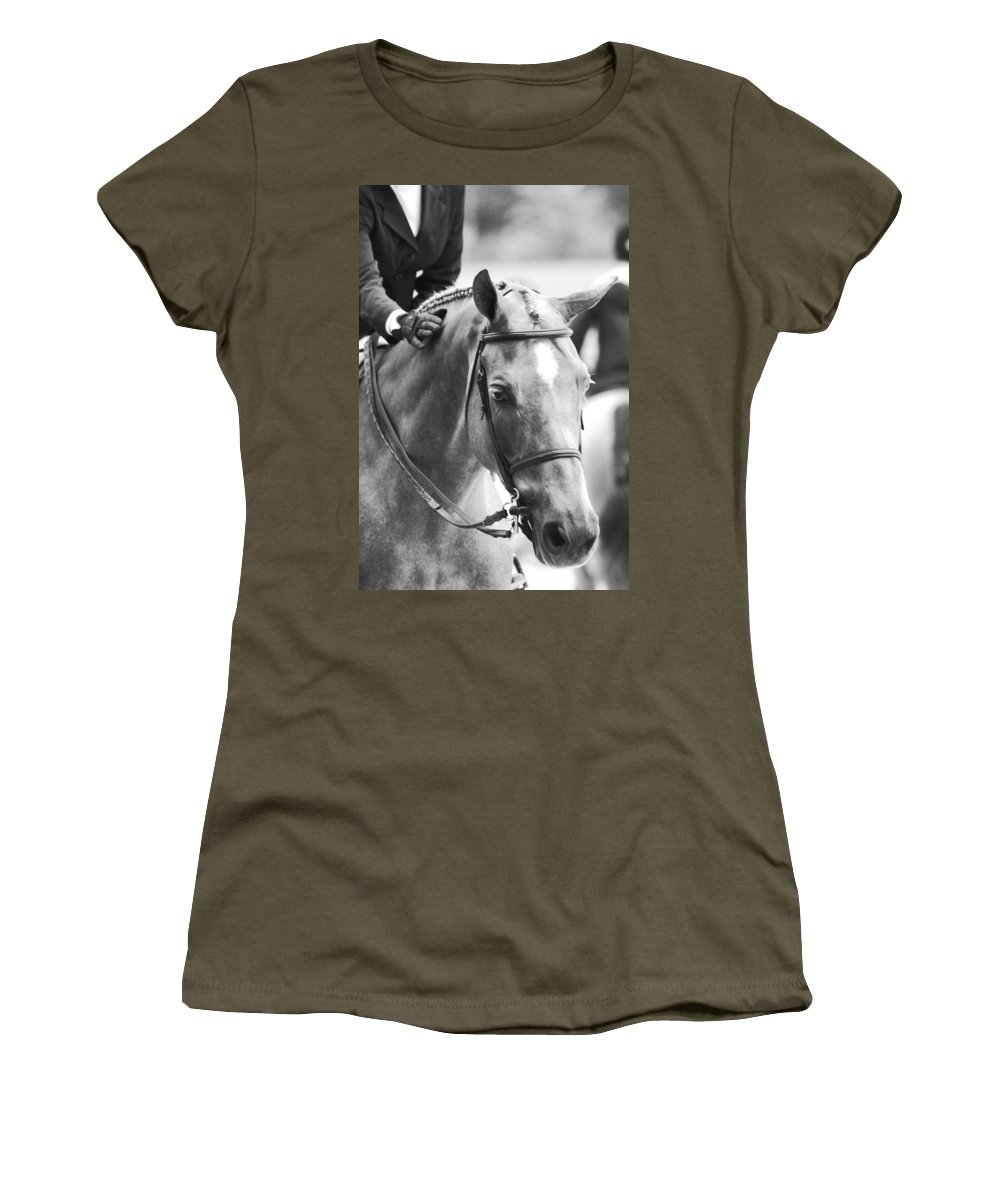 Horse Women's T-Shirt featuring the photograph Sweet Pony by Alice Gipson