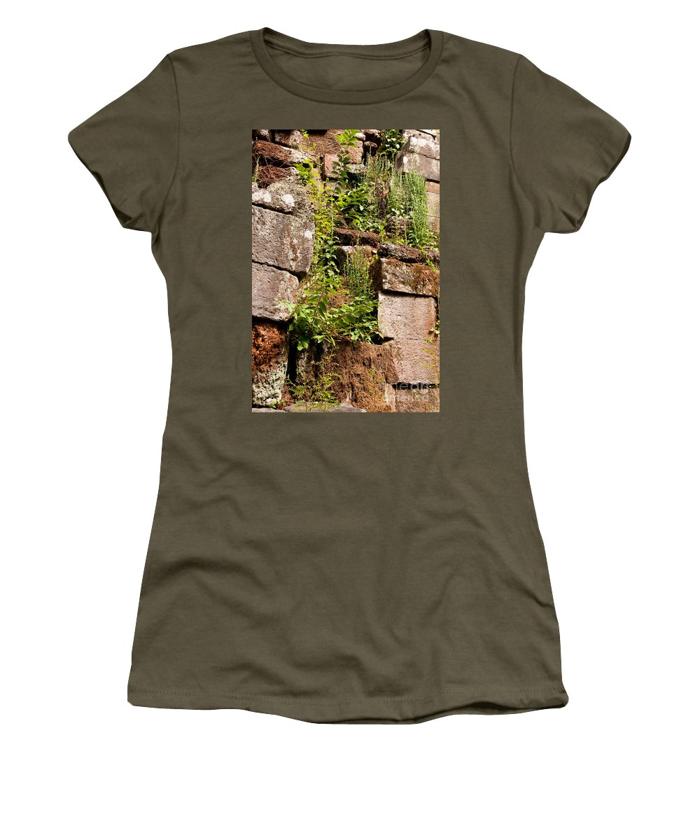 Ruined Women's T-Shirt featuring the photograph Temple Ruins 05 by Rick Piper Photography