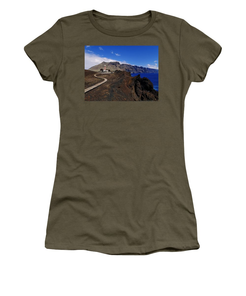 Landscape Women's T-Shirt featuring the photograph Tenerife by Karol Kozlowski