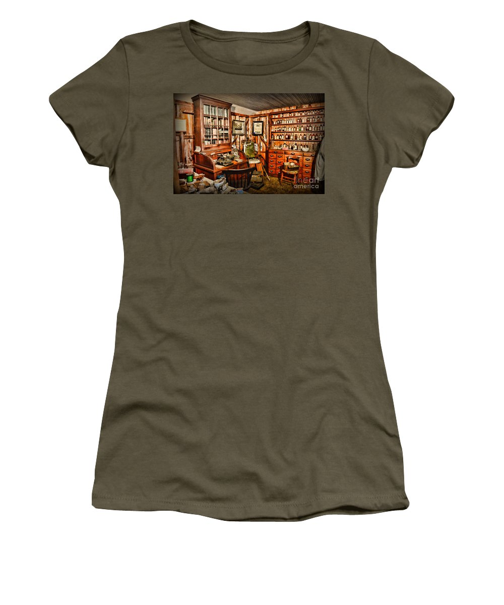 Paul Ward Women's T-Shirt featuring the photograph The Country Doctor by Paul Ward