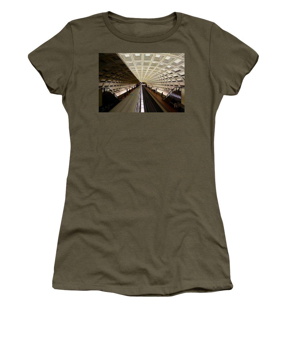 Civil War Women's T-Shirt featuring the photograph The D.c. Metro by Scott Fracasso
