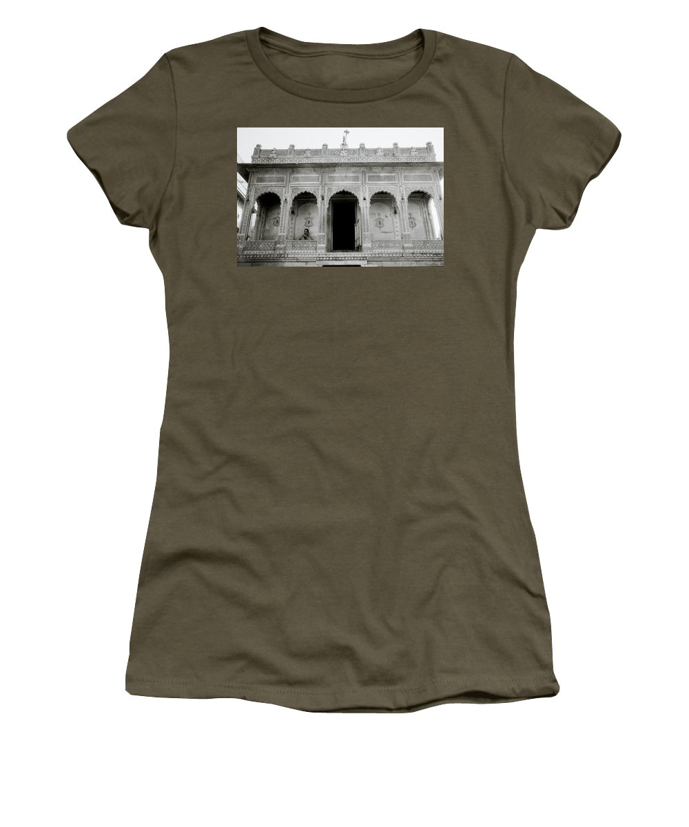 Religion Women's T-Shirt featuring the photograph The Ethereal Temple by Shaun Higson