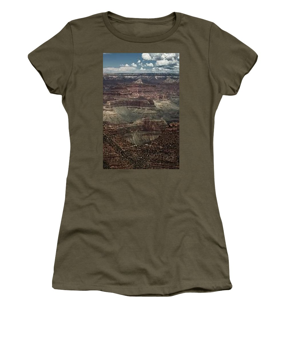 Outdoors Women's T-Shirt featuring the photograph The Grandest Canyon by Kathleen Odenthal