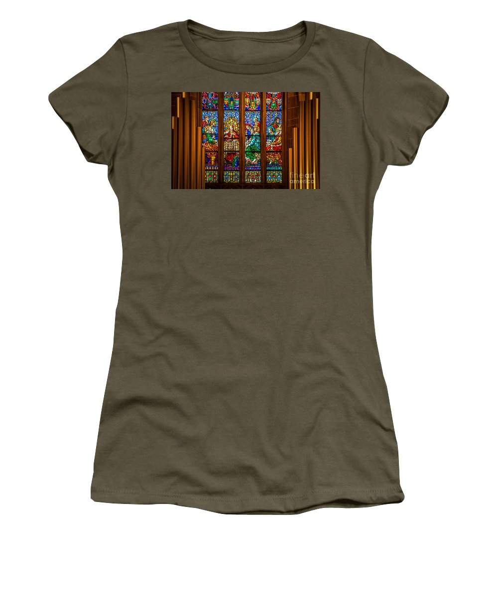 The Last Supper Women's T-Shirt featuring the photograph The Last Supper by Grace Grogan
