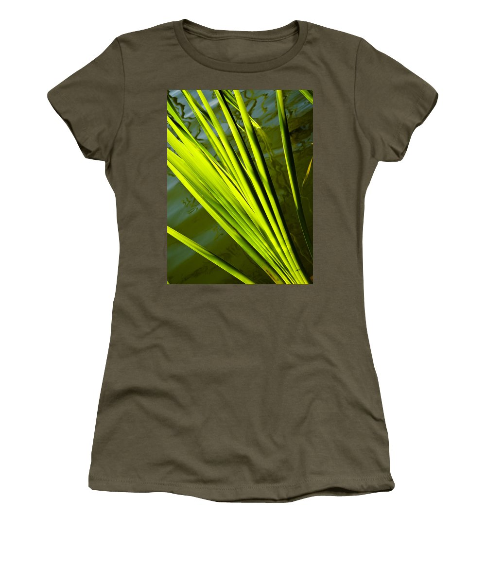 Reed Women's T-Shirt featuring the photograph The Reeds by David Pyatt