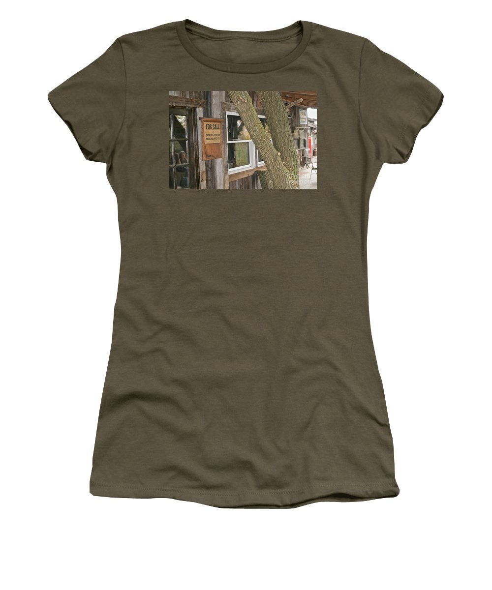 Finger Lakes Women's T-Shirt featuring the photograph The Winery by William Norton
