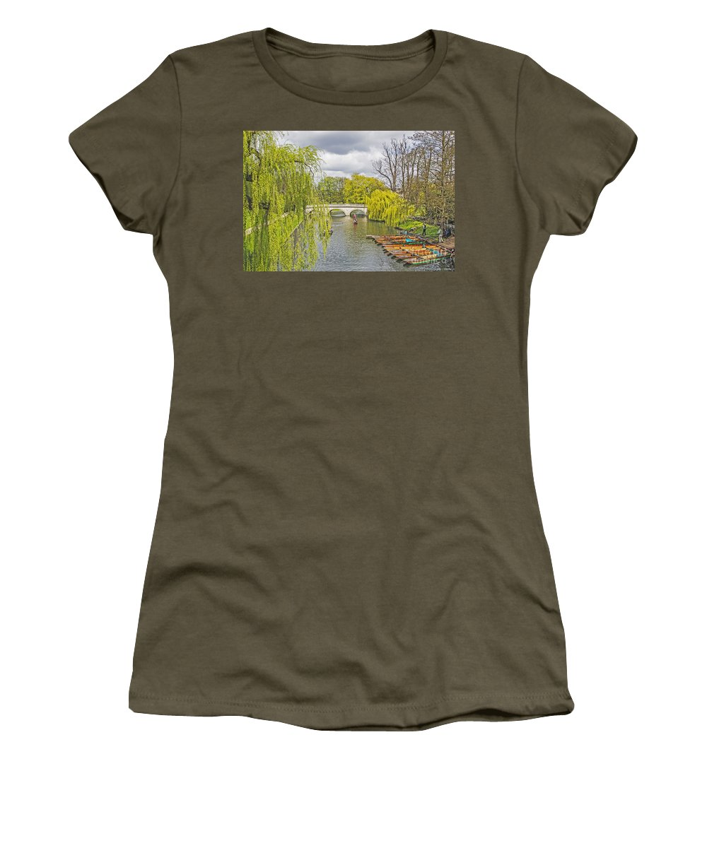 Travel Women's T-Shirt featuring the photograph Time To Punt by Elvis Vaughn