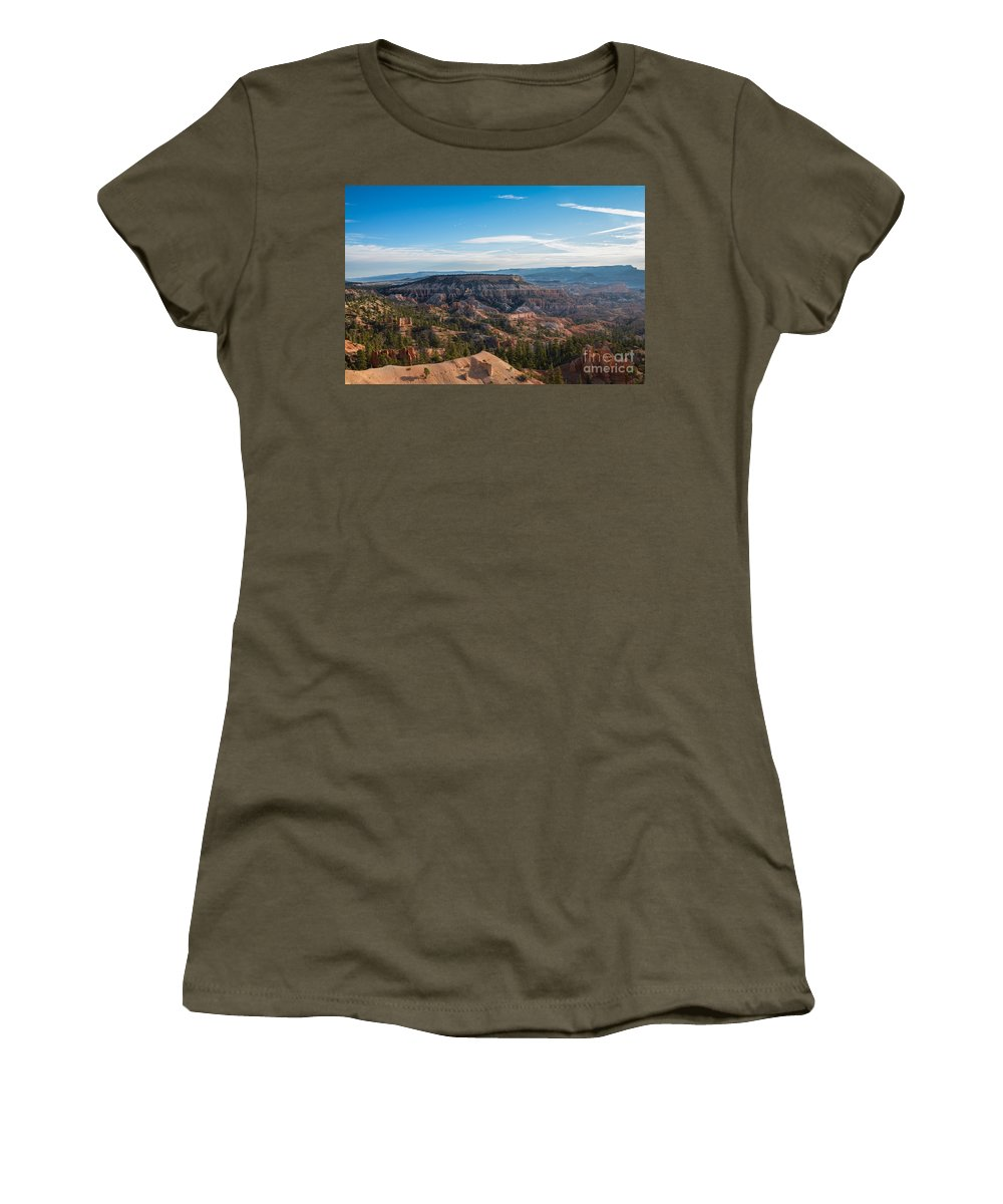 Brown Women's T-Shirt (Athletic Fit) featuring the photograph Toll Of Time by Rich Priest