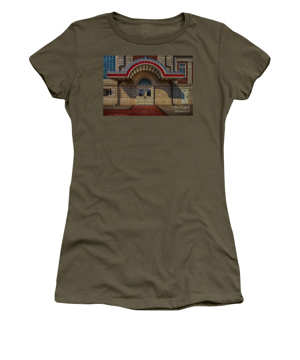 Topeka Women's T-Shirt (Athletic Fit) featuring the photograph Topeka by Liane Wright
