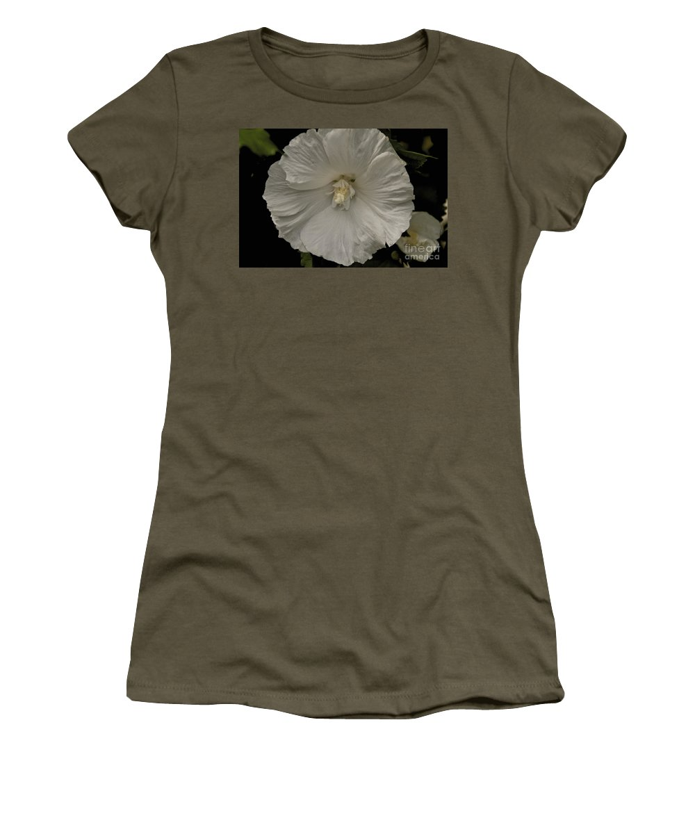 Tree Women's T-Shirt featuring the photograph Tree Flower by William Norton