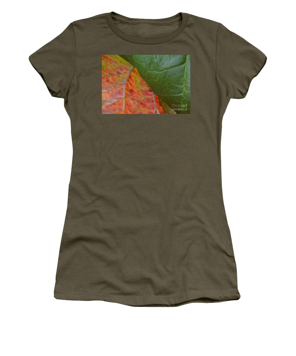 Photograph Women's T-Shirt featuring the photograph Turning Point by Brian Boyle