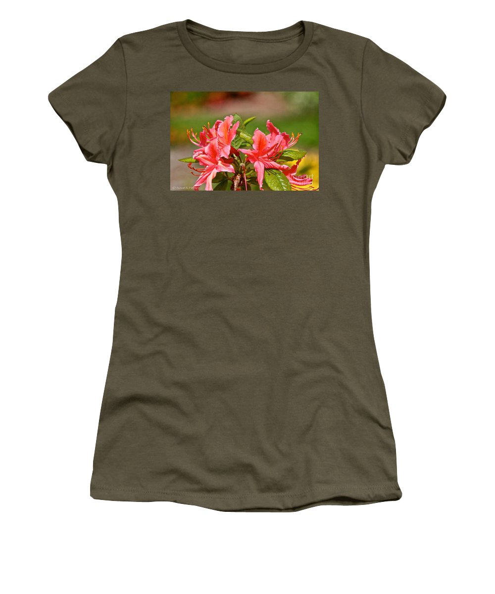 Flower Women's T-Shirt featuring the photograph Unmarred by Susan Herber
