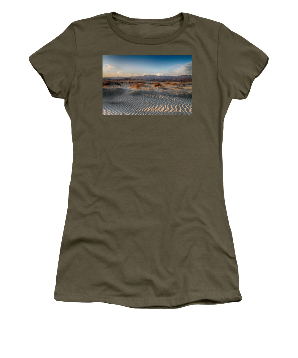 Palm Desert Women's T-Shirt featuring the photograph Unspoken by Laurie Search