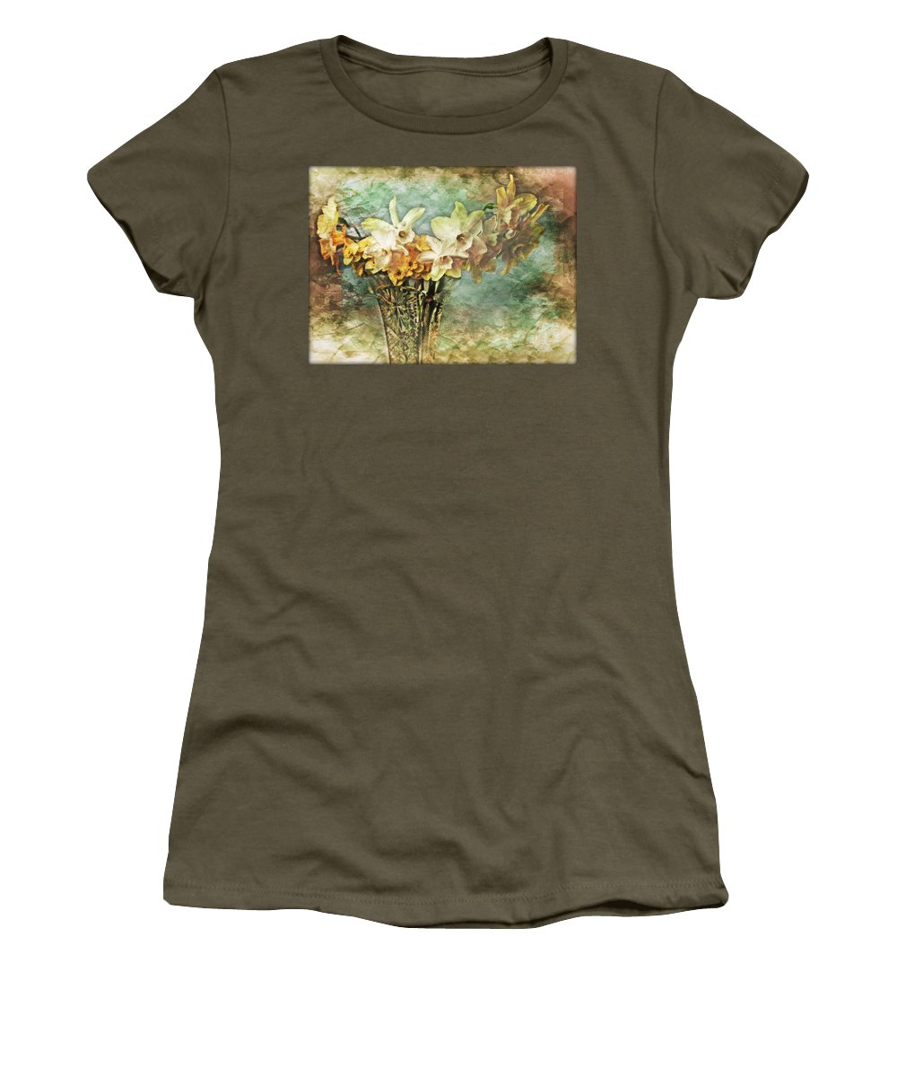 Flowers Women's T-Shirt featuring the photograph Untitled by John Anderson