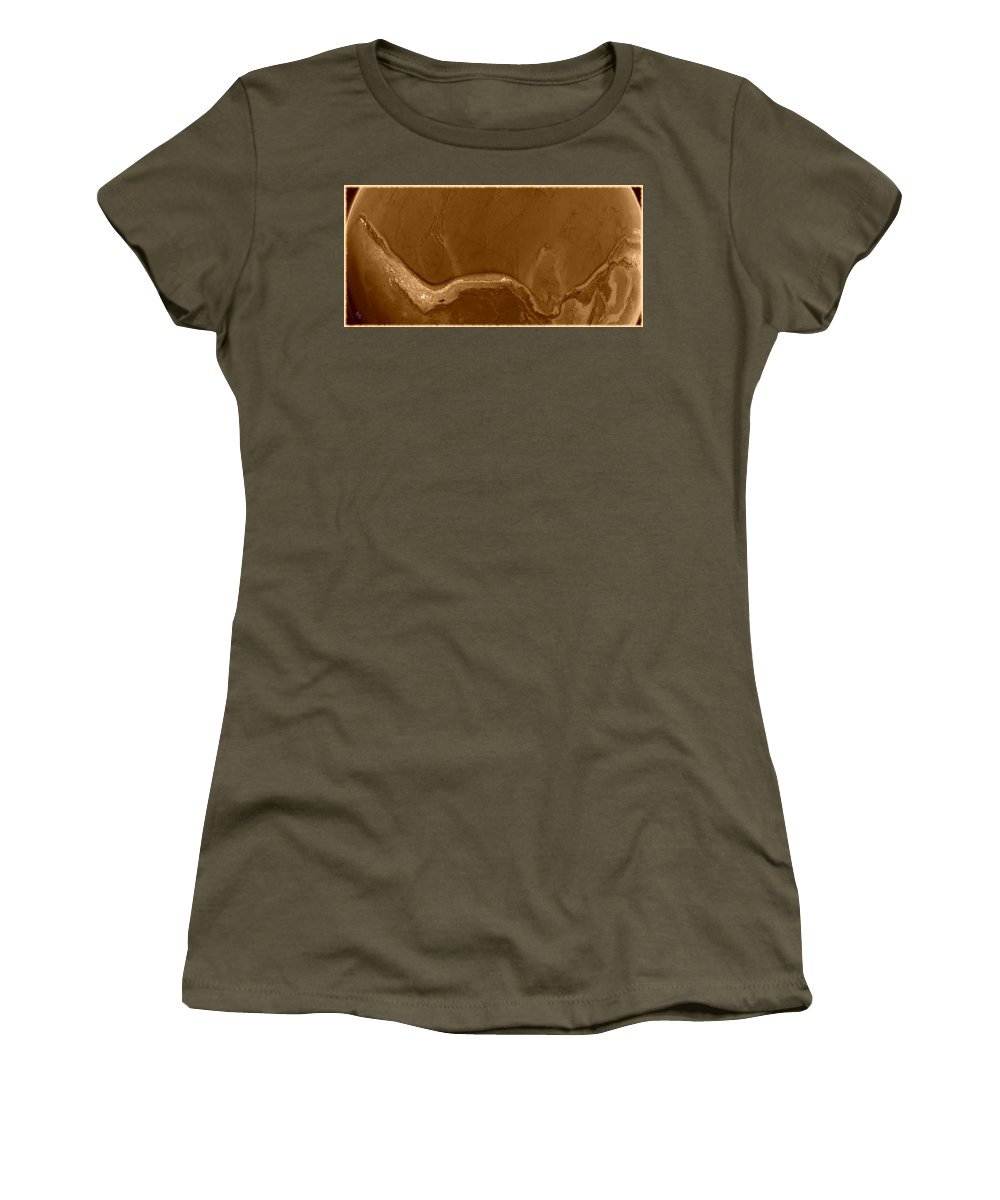 Earth Women's T-Shirt featuring the photograph W Terra by Marcello Cicchini