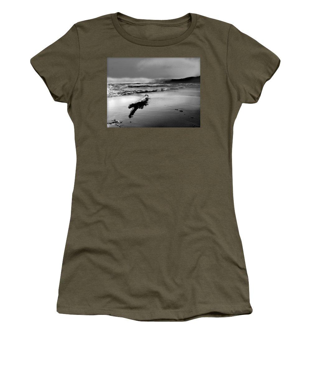 Washington Women's T-Shirt featuring the photograph Washington Coast by John Anderson