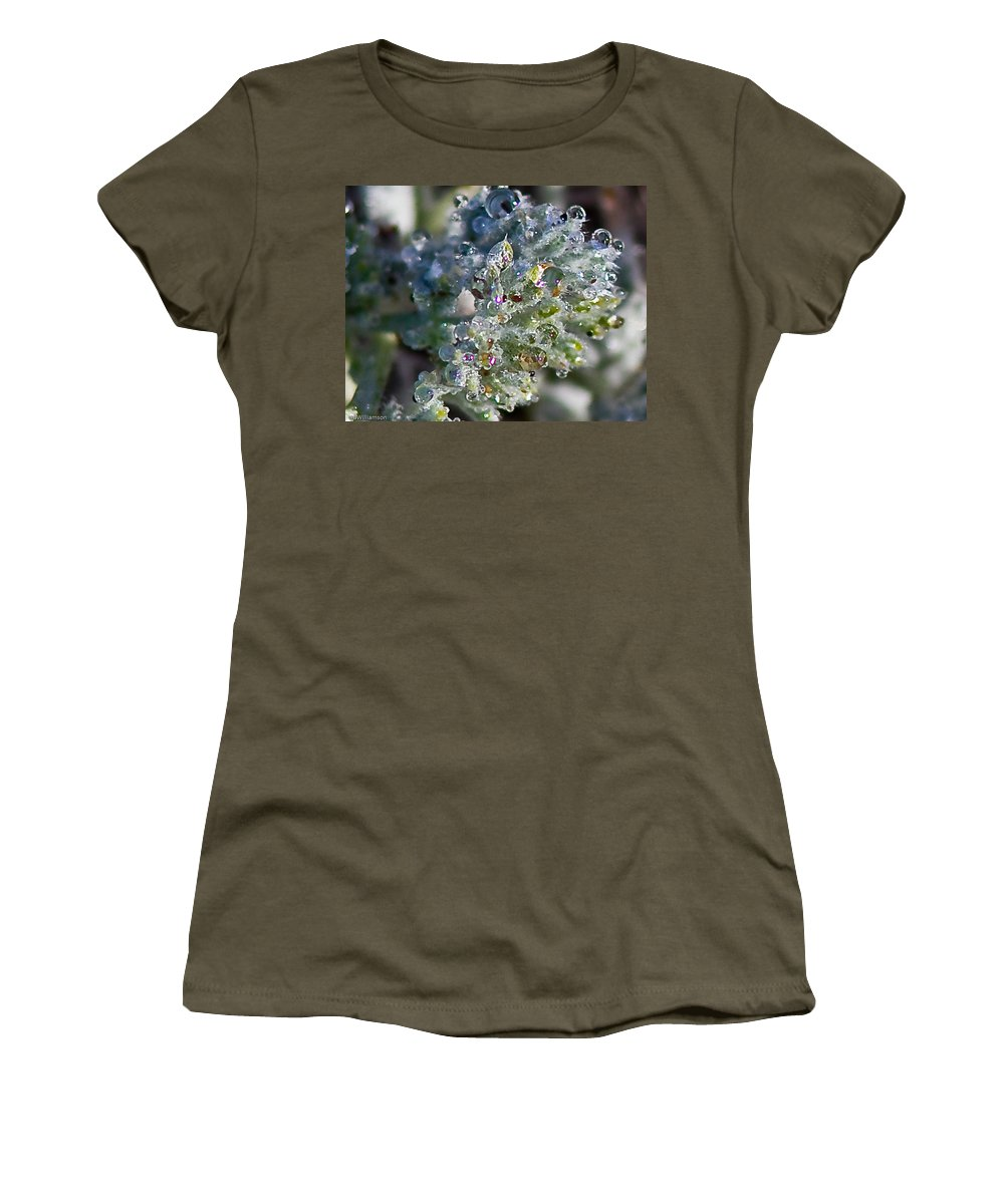 Water Women's T-Shirt featuring the photograph Water Due by Brian Williamson