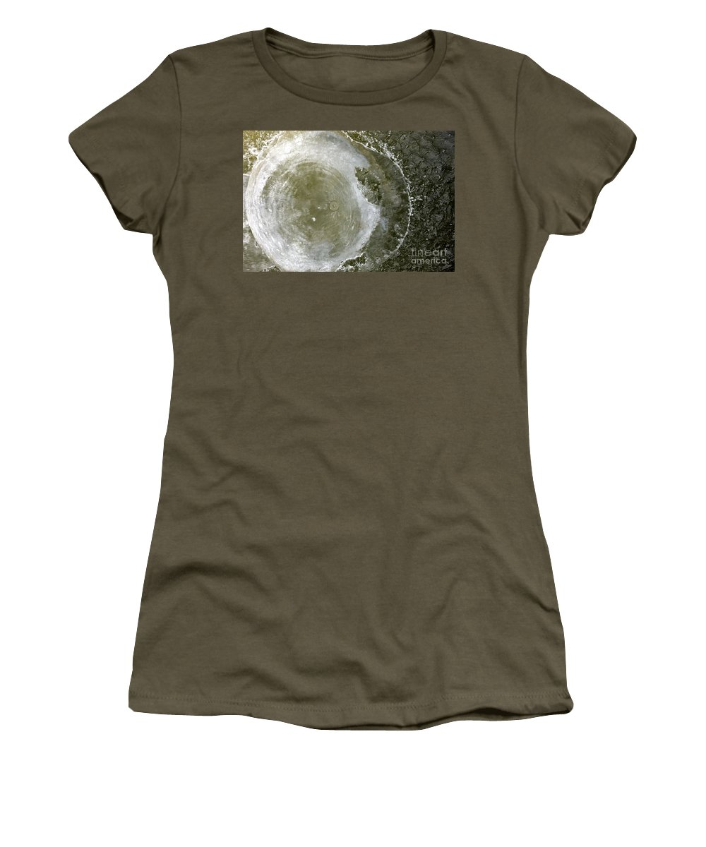 Water Women's T-Shirt featuring the photograph Water Spout 2 by Jacqueline Athmann