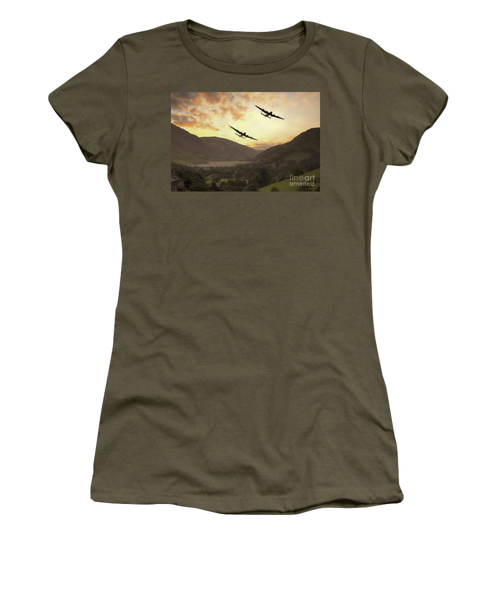 Avro Women's T-Shirt featuring the digital art When Vera Came To Play by J Biggadike