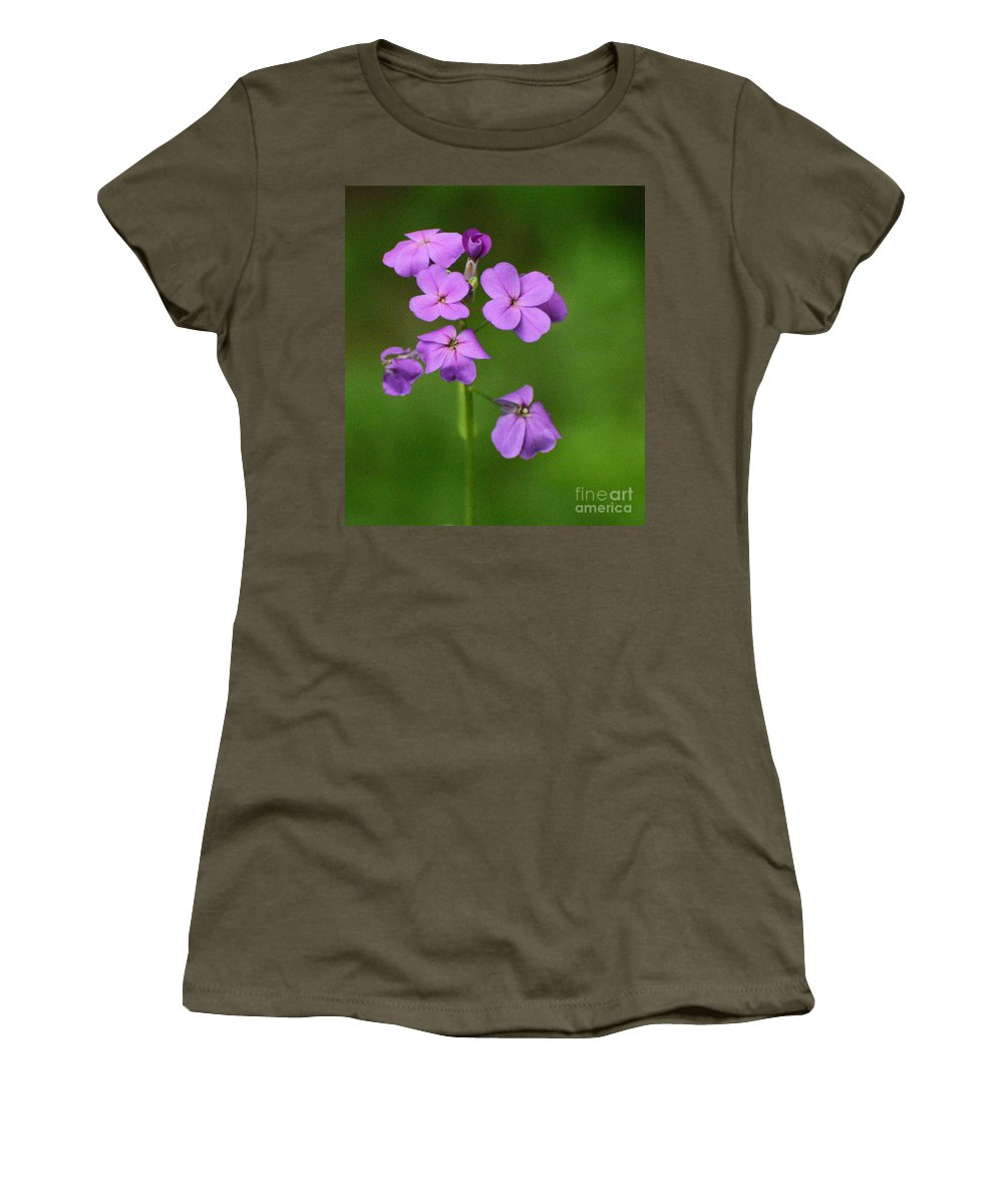 Flowers Women's T-Shirt featuring the photograph Wildflowers by Cindy Manero