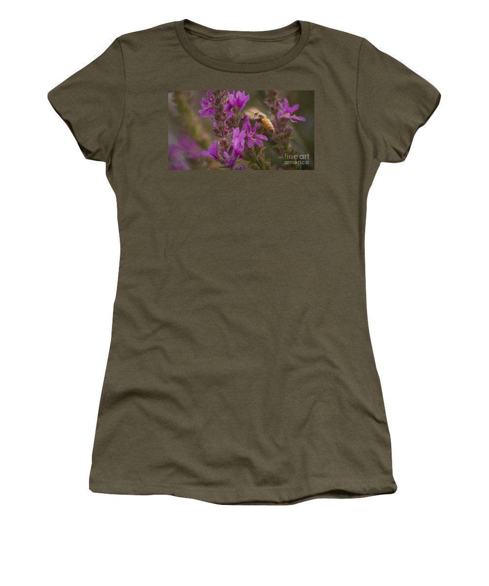 Flying Women's T-Shirt (Athletic Fit) featuring the photograph Wings by Andrea Goodrich