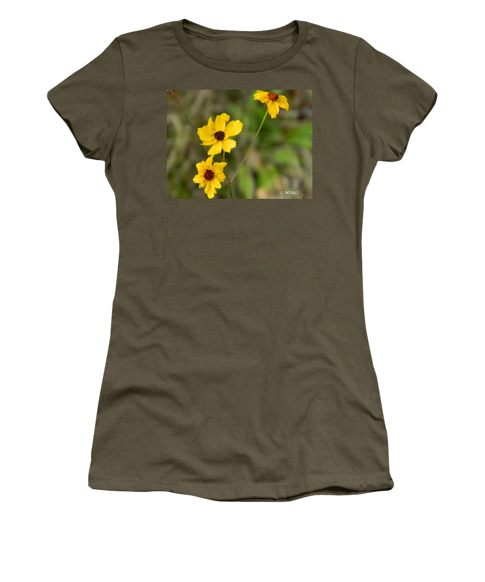 Winter Women's T-Shirt featuring the photograph Winter Bloom by George Pedro