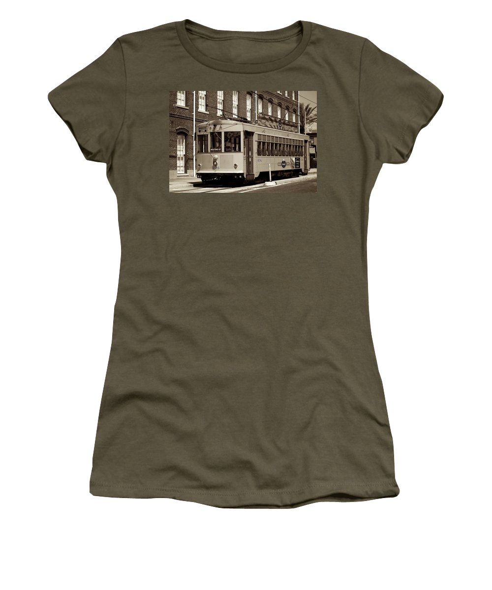 Ybor City Women's T-Shirt featuring the photograph Ybor City 2010 7 by David and Patricia Beebe