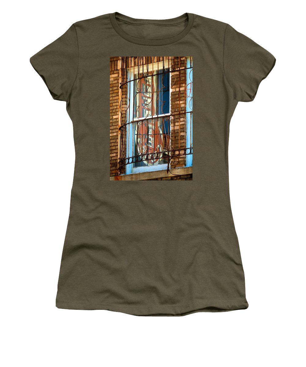 Ybor City Women's T-Shirt featuring the photograph Ybor City 2013 3 by David Beebe