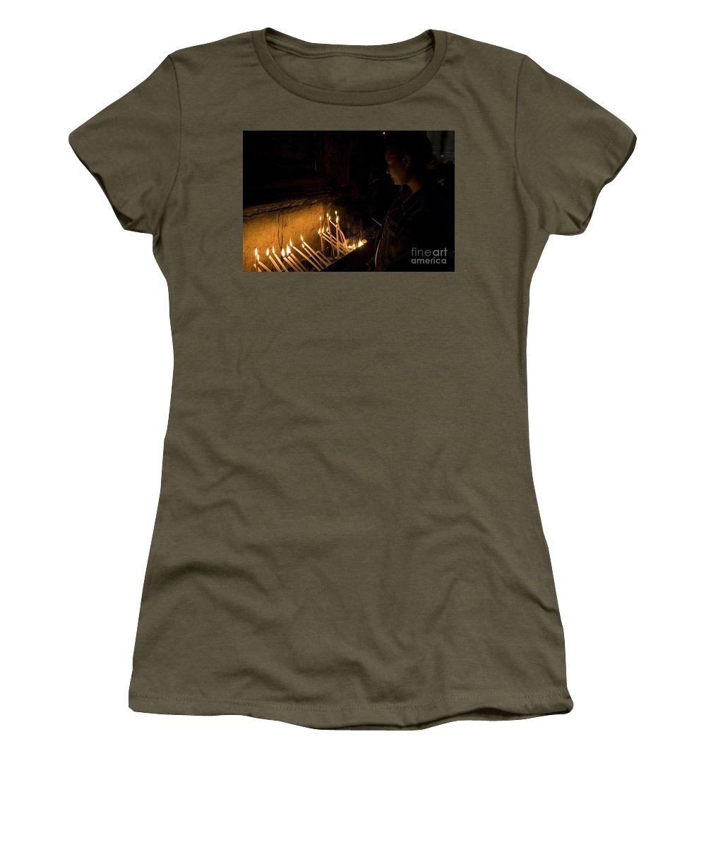 Psi Women's T-Shirt featuring the photograph Church Of The Holy Sepulchre by Danny Yanai