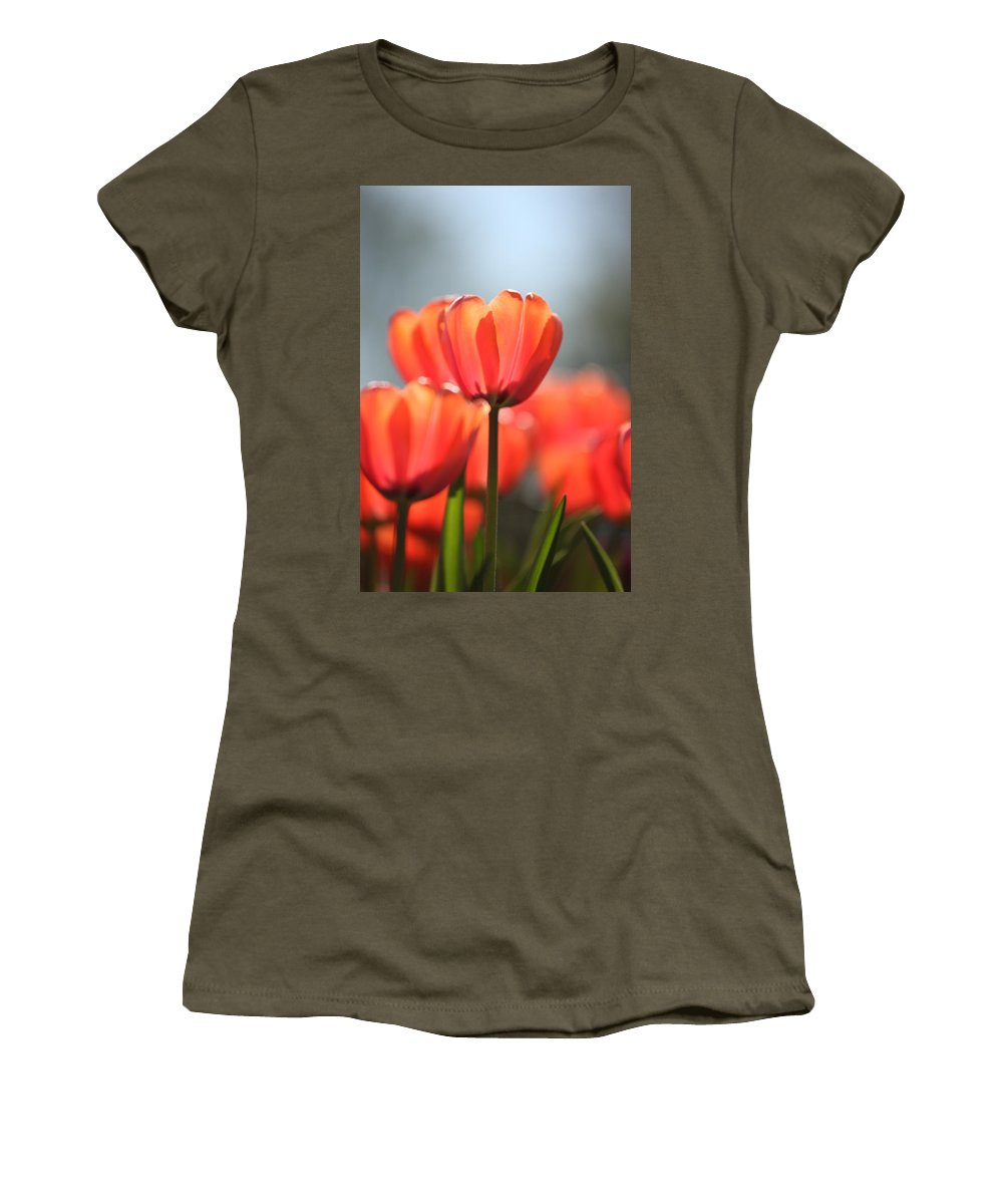Flower Women's T-Shirt featuring the photograph Floral 34 by Carol Ann Thomas
