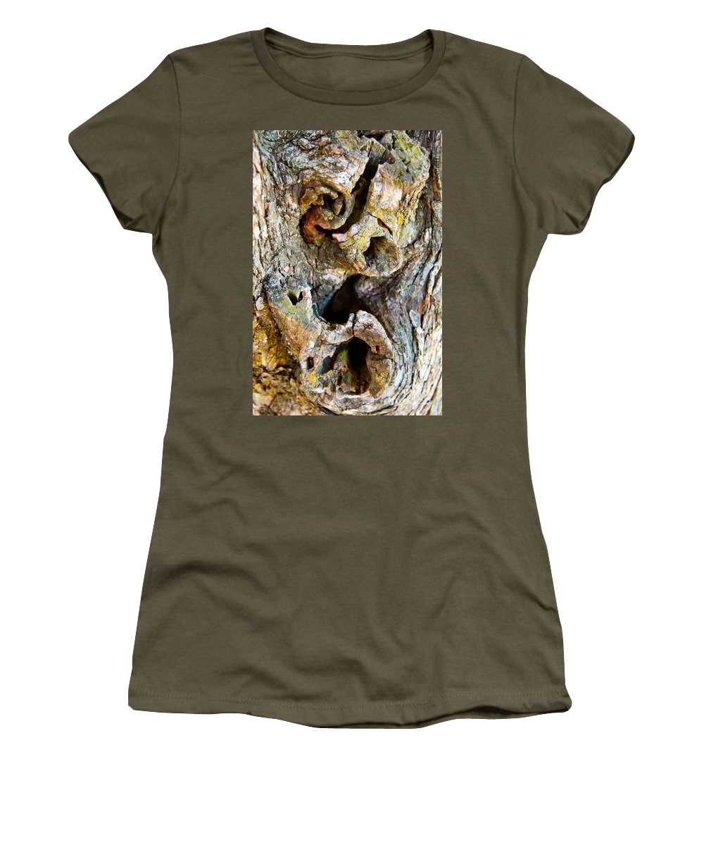 Tree Women's T-Shirt featuring the photograph Twisted by Anjanette Douglas