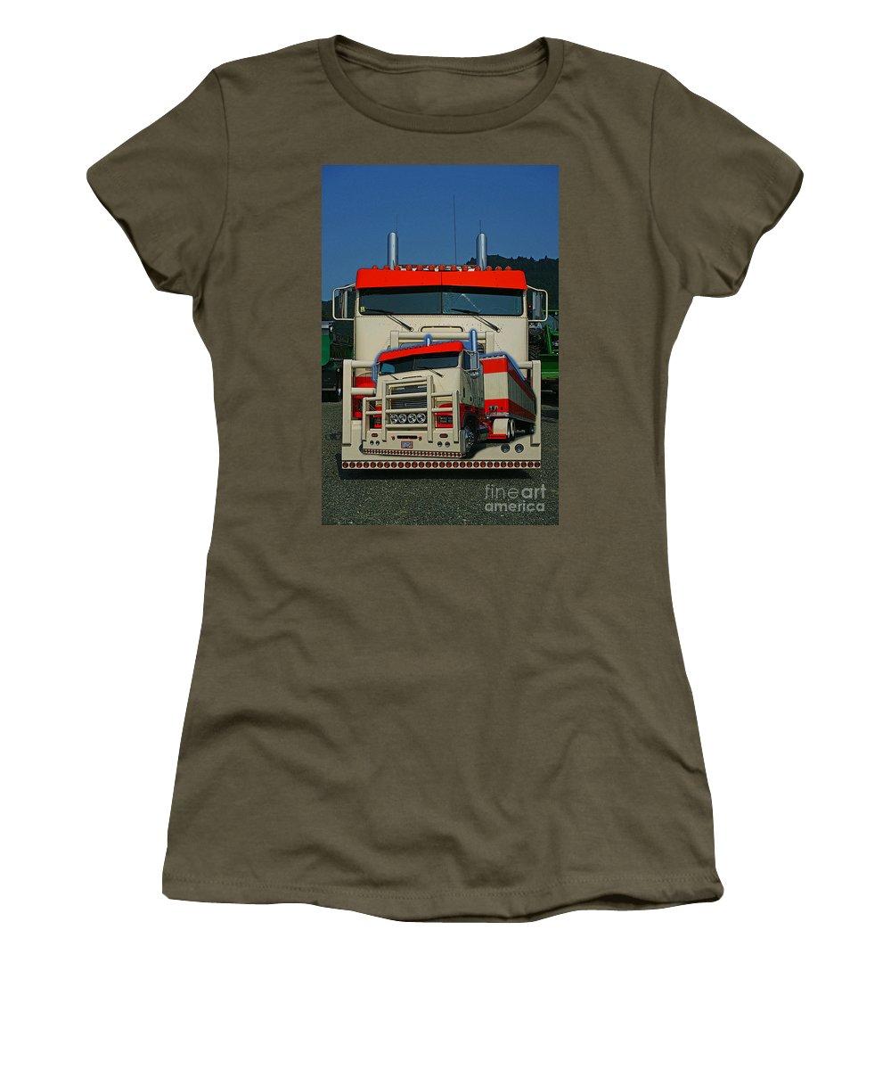 Trucks Women's T-Shirt featuring the photograph Catr0270-12 by Randy Harris