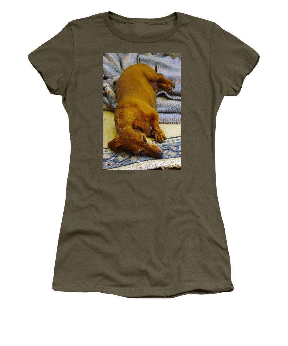 Cb Women's T-Shirt featuring the photograph Cb Lazy July Afternoon by John Greaves