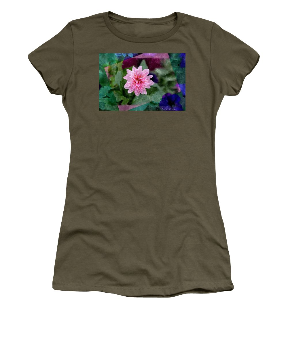 Flower Women's T-Shirt featuring the photograph Cheer Up by Ericamaxine Price