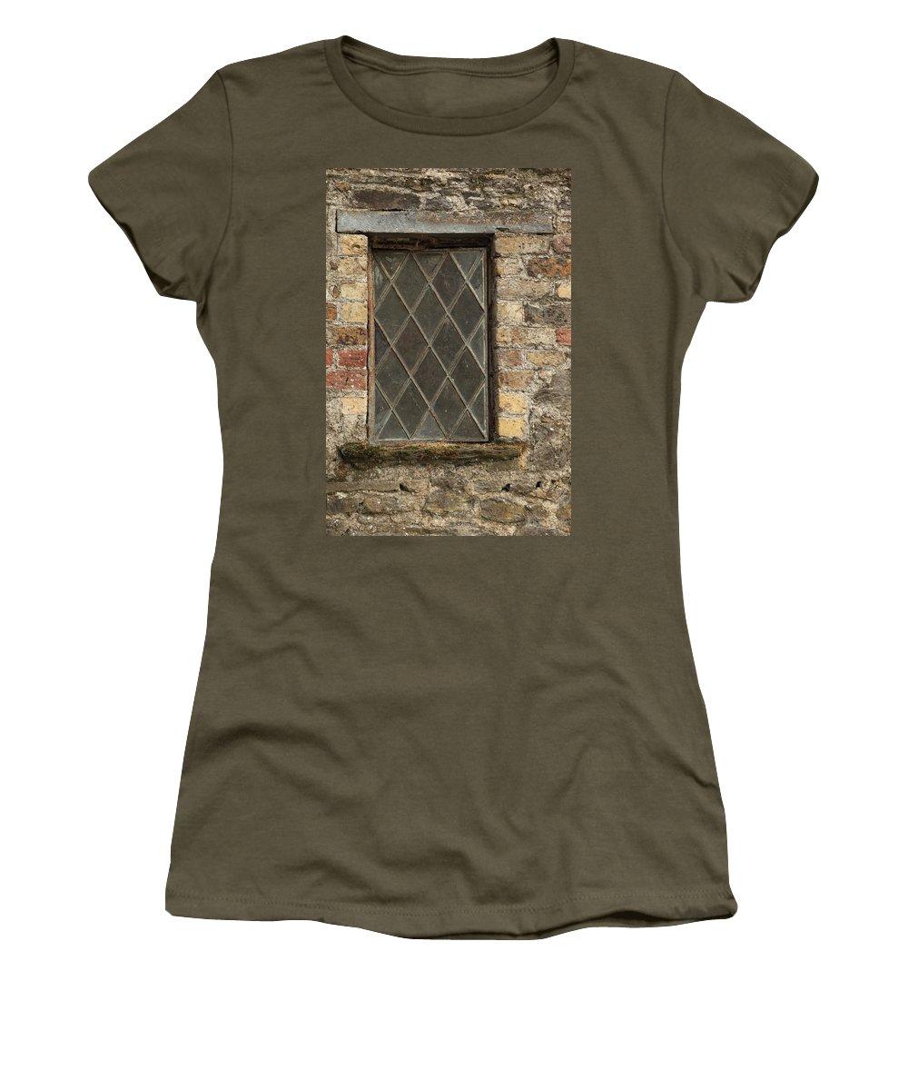 Window Women's T-Shirt featuring the photograph City 0012 by Carol Ann Thomas
