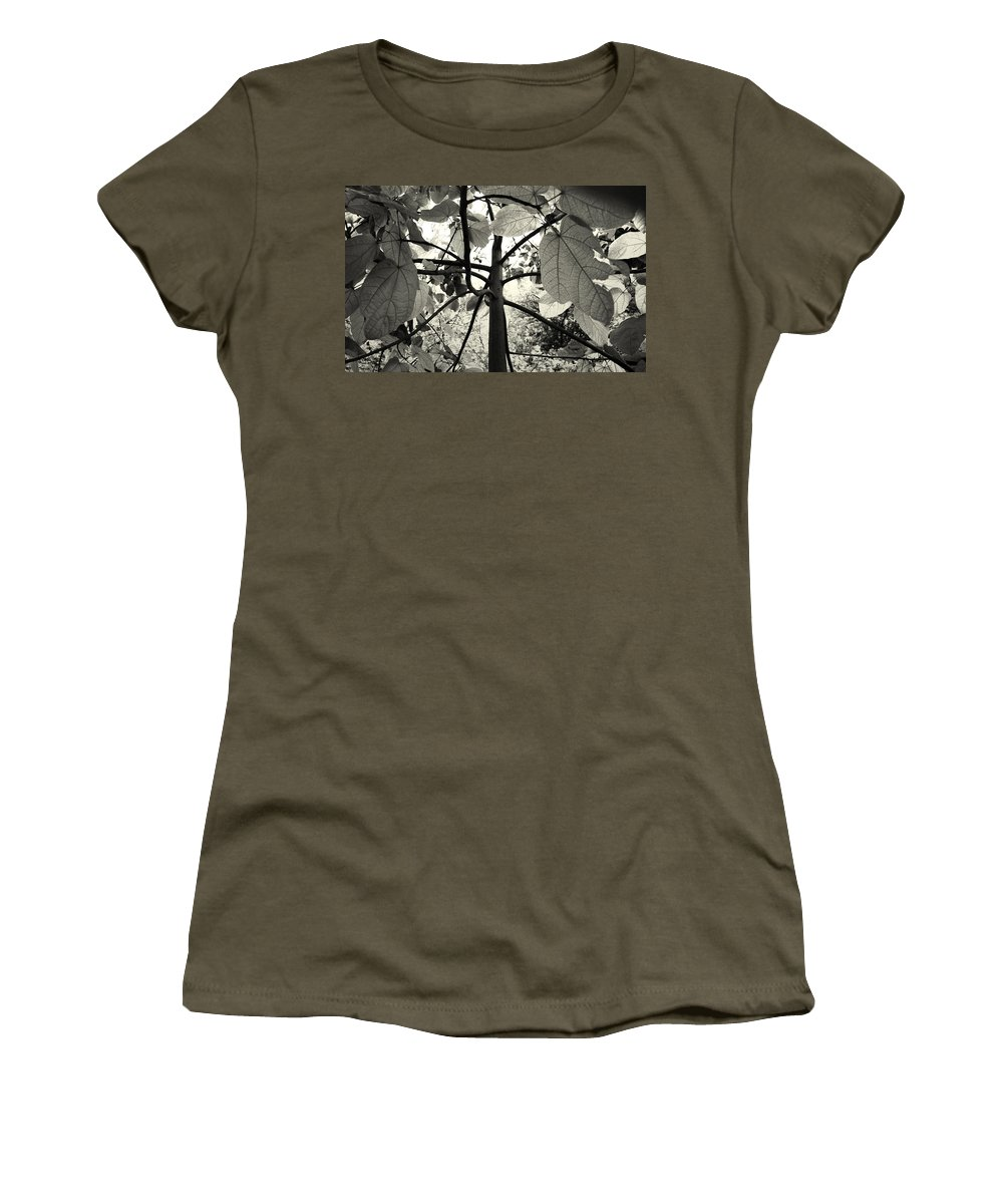 Flowers Women's T-Shirt featuring the photograph From The Inside by Sumit Mehndiratta
