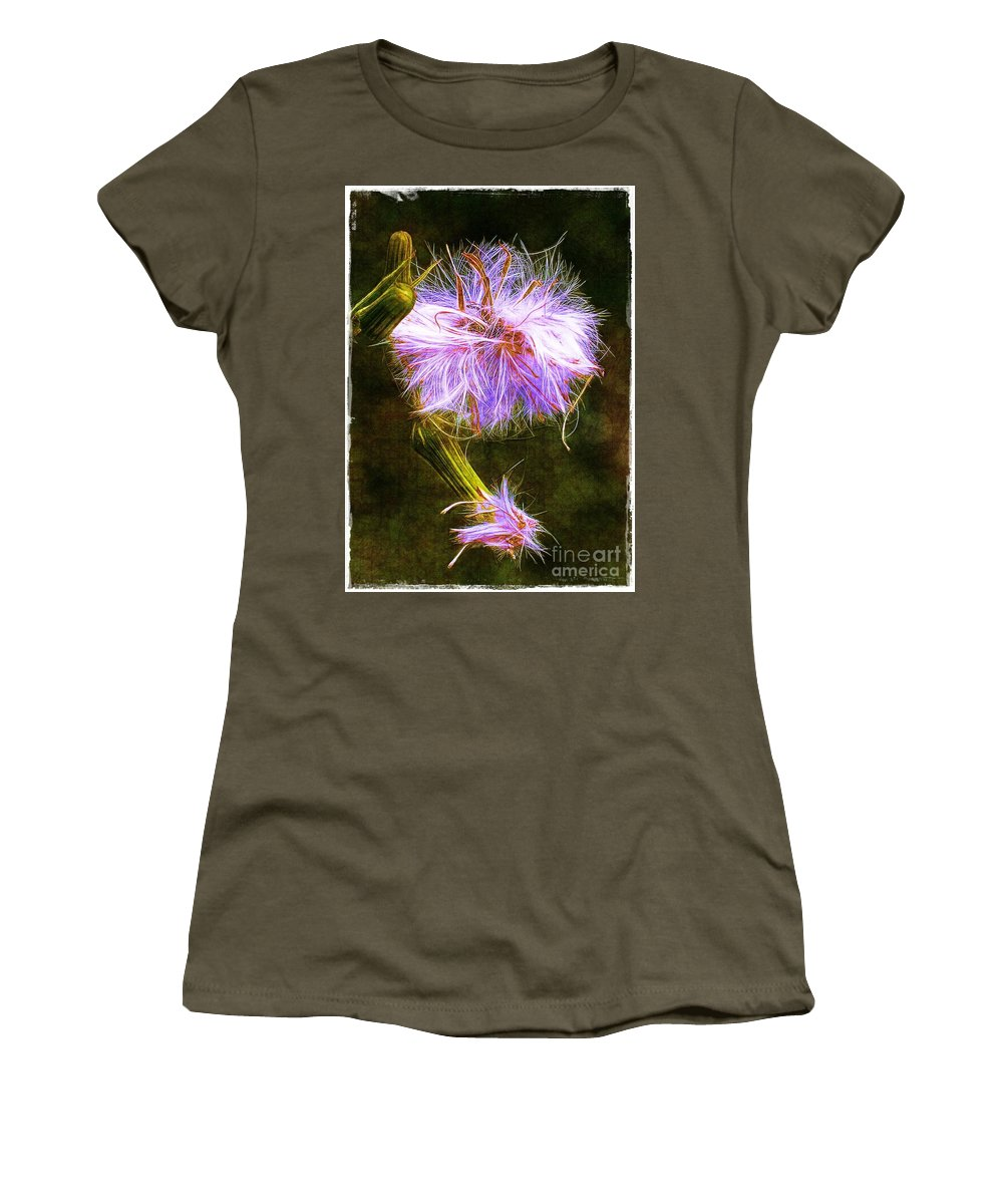 Seed Women's T-Shirt (Athletic Fit) featuring the photograph Going To Seed by Judi Bagwell