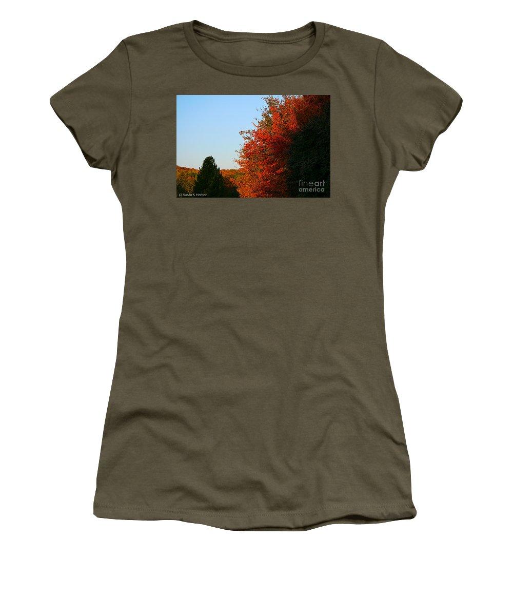 Outdoors Women's T-Shirt featuring the photograph Minnesota Morning by Susan Herber