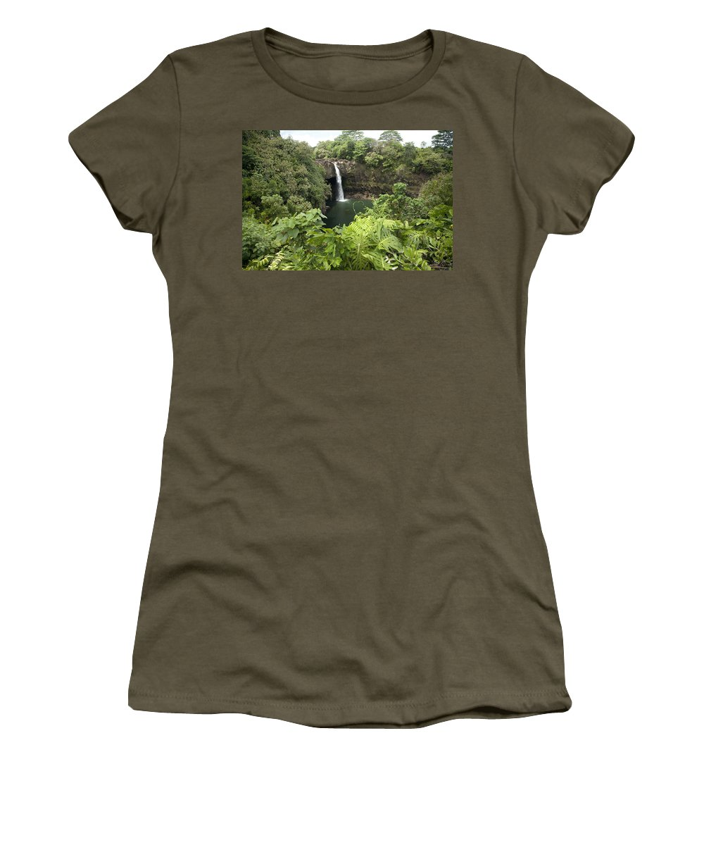 Big Women's T-Shirt featuring the photograph Rainbow Falls IIi by Peter French