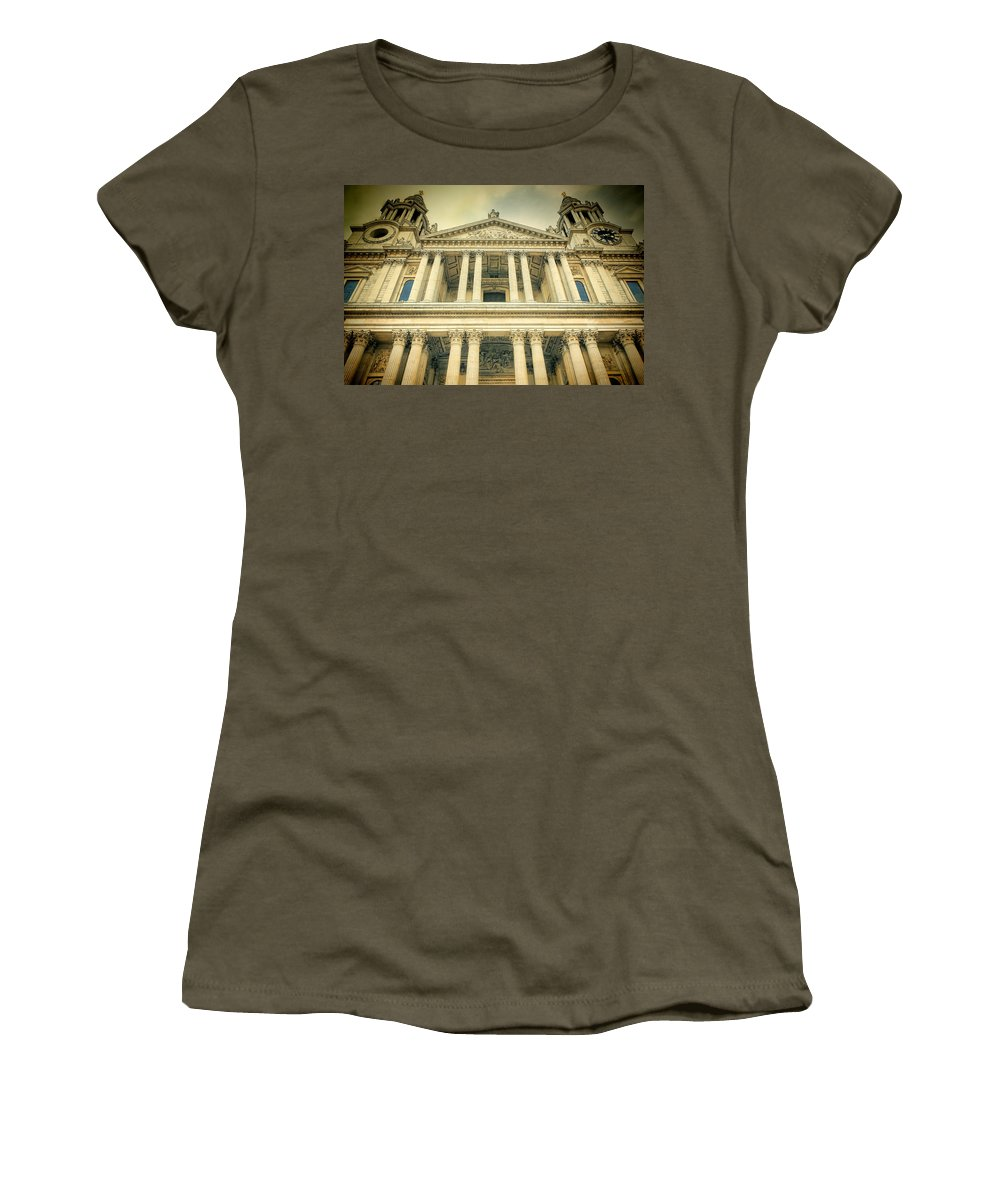 Cathedral Women's T-Shirt featuring the photograph St Pauls Standing by Joan Carroll