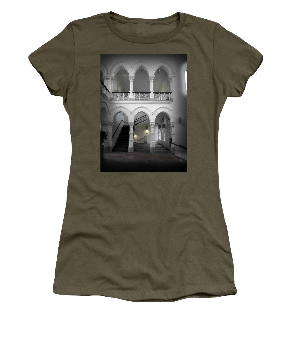 Gothic Women's T-Shirt featuring the photograph Stairway To Heaven by Charles Stuart