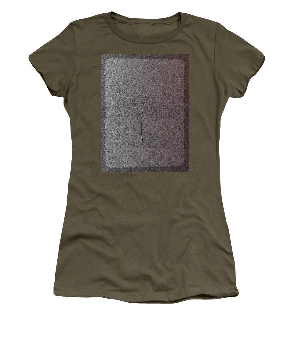Branch Women's T-Shirt featuring the digital art The Branch by Tim Allen
