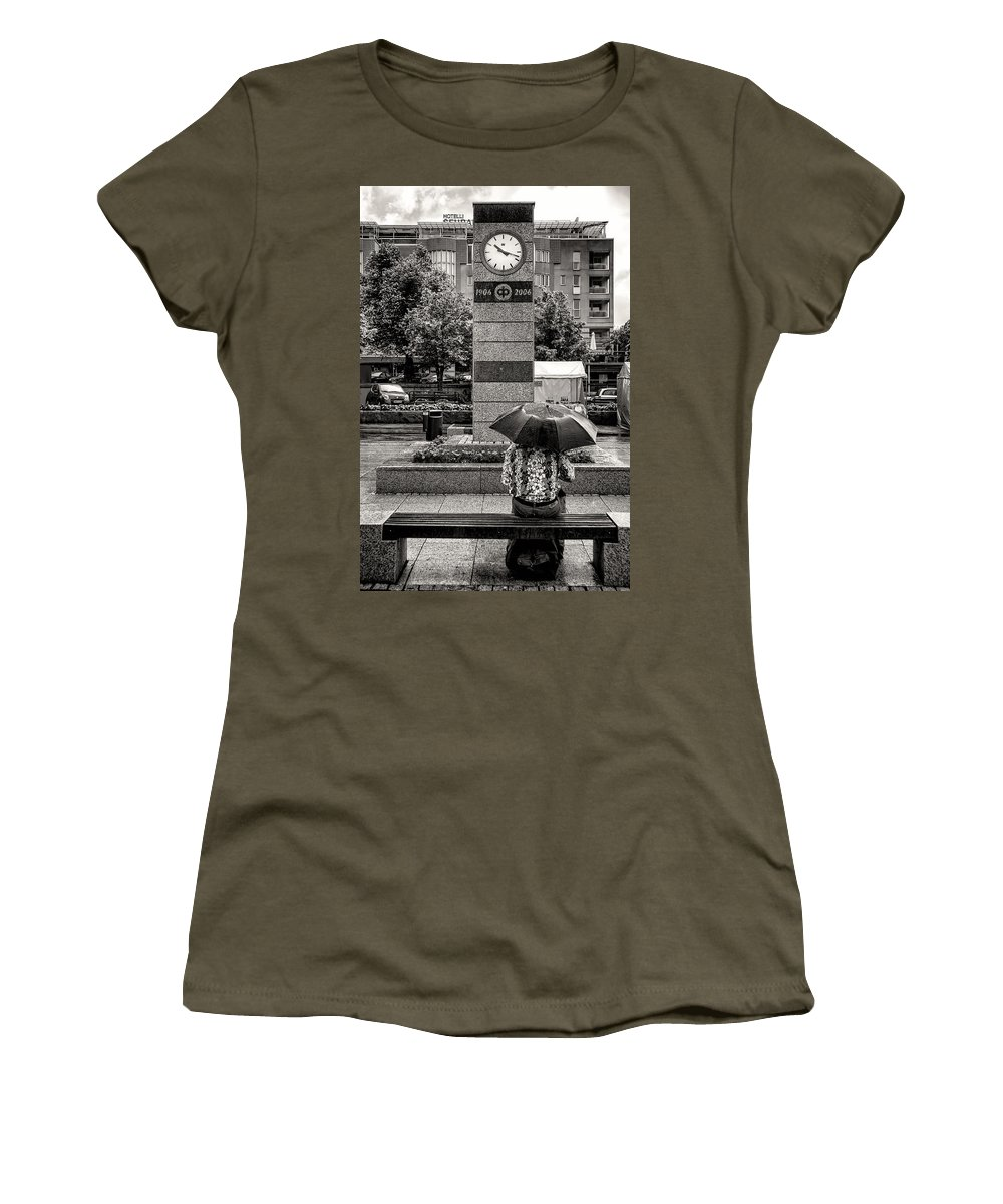 Leisurely Women's T-Shirt featuring the photograph The Leisurely Life by Ari Salmela