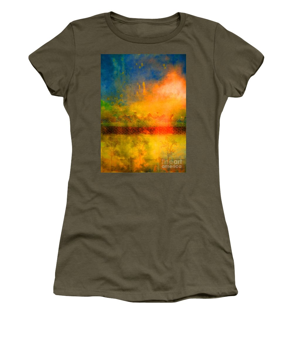 Trees Women's T-Shirt featuring the photograph The Timing by Tara Turner